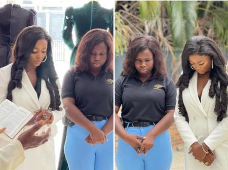 BBNaija's Ka3na Officially Launches Her Clothing Store