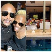 Check out the most elegant gift that Somizi bought for Vuzi Nova.