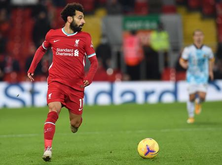 Mo Salah becomes second Player to achieve this feat in club's 3-0 win
