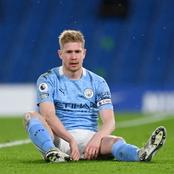 EPL: De Bruyne Reveals Why Man City Lost To Man Utd At Home