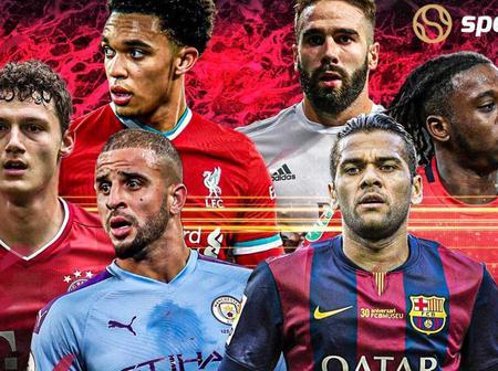 Best Right Backs in European Football in 2021
