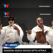 Masalale! Diamond and Koffi Song Shocks The Internet, Breaks This Record On Youtube Africa