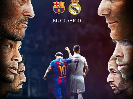 FC Barcelona and Real Madrid who wins.