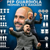 Pep Guardiola Trophies as a Manager