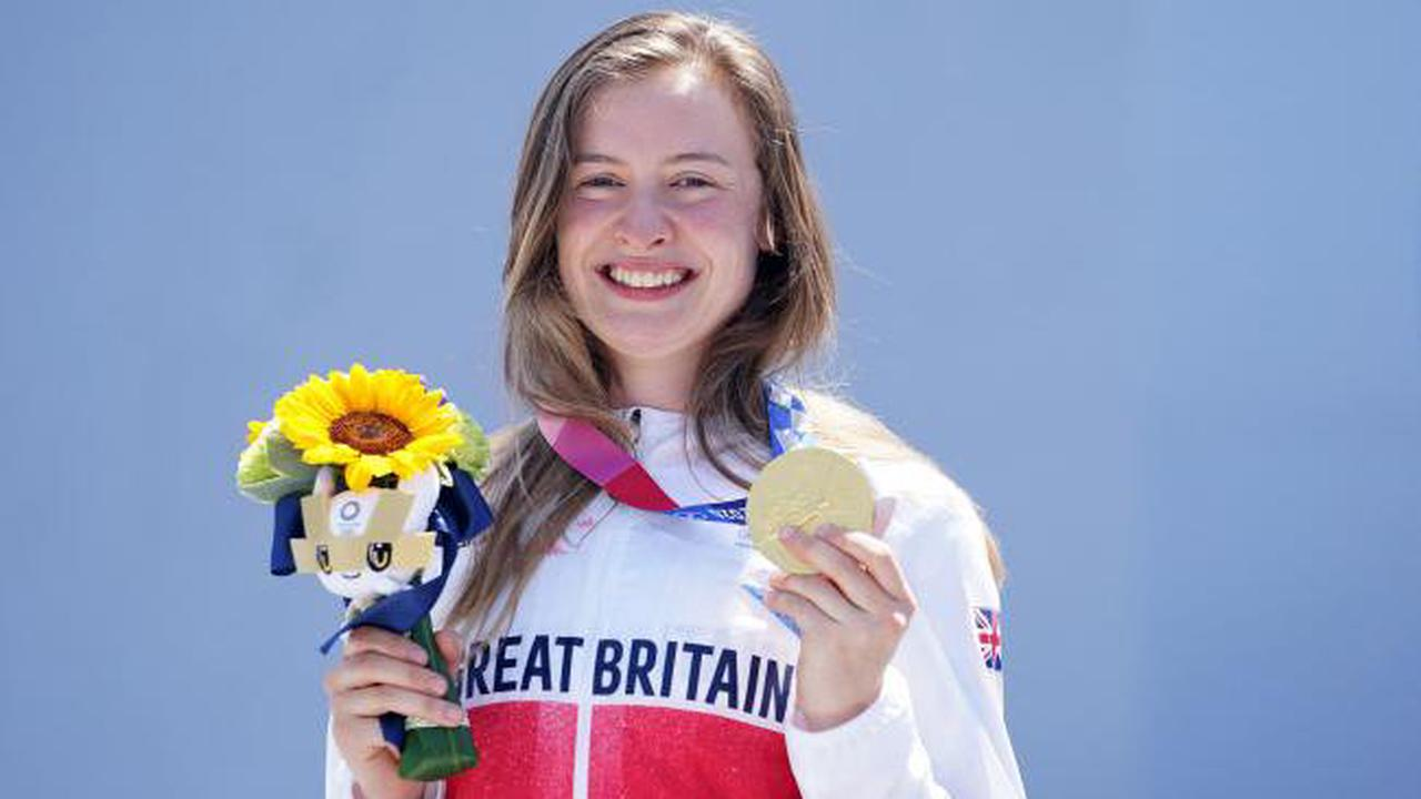 BMX rider's mother says gold medal win 'like a dream'