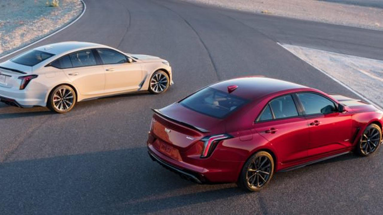 Cadillac Blackwing Models To Start Production Ahead Of Regular 2022 CT4, CT5