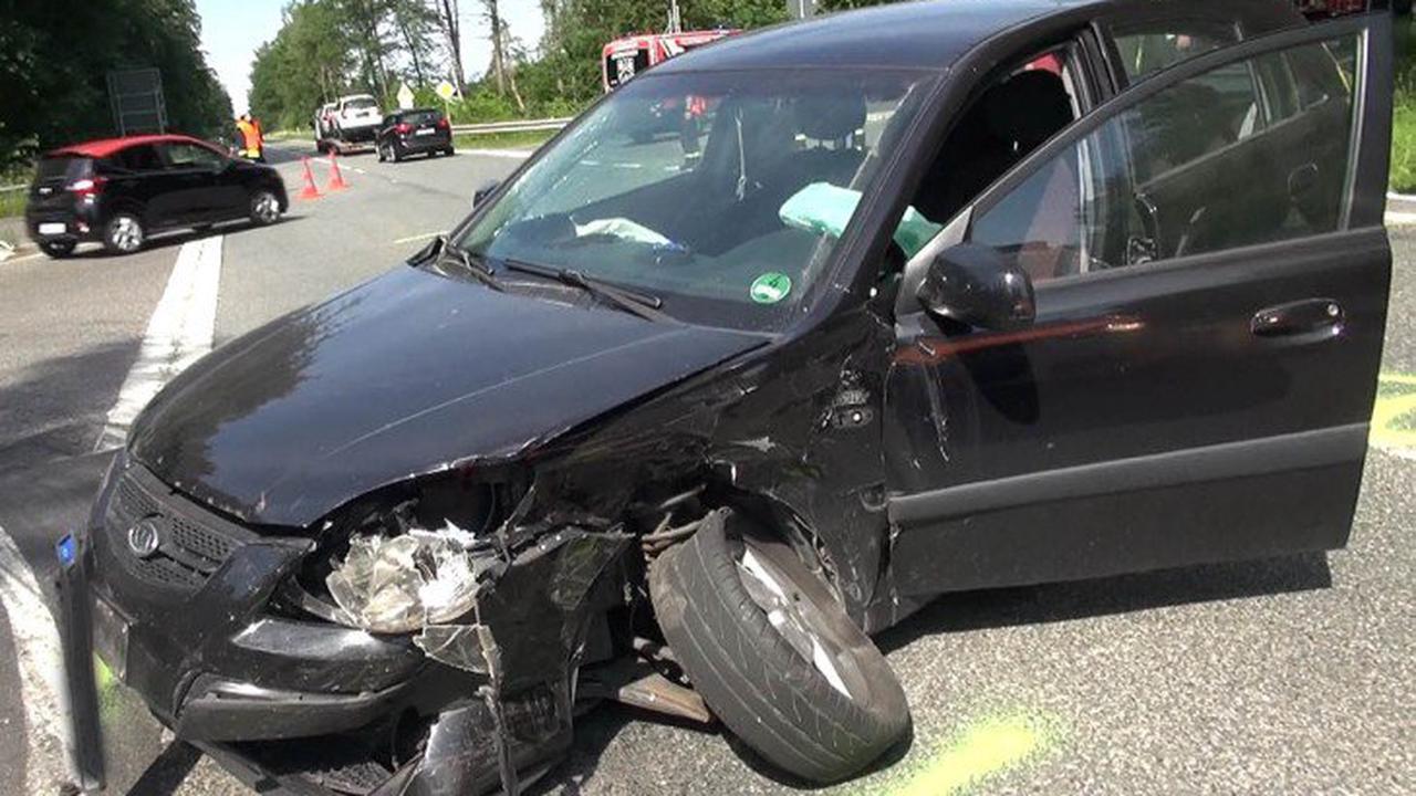 Schwerer Unfall bei Dreikirchen
