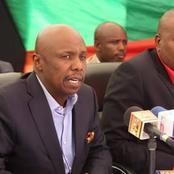 Eldoret: Gideon Moi Meets Ruto Allies Jackson Mandago, Caleb Kositany, Others at a Funeral