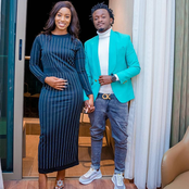 Ni Bibi Yake! Kenyans Defend Bahati After A Man Called Him Out For Posting This Picture