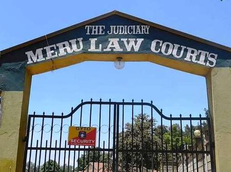 Meru Law Courts Closed Over Covid-19