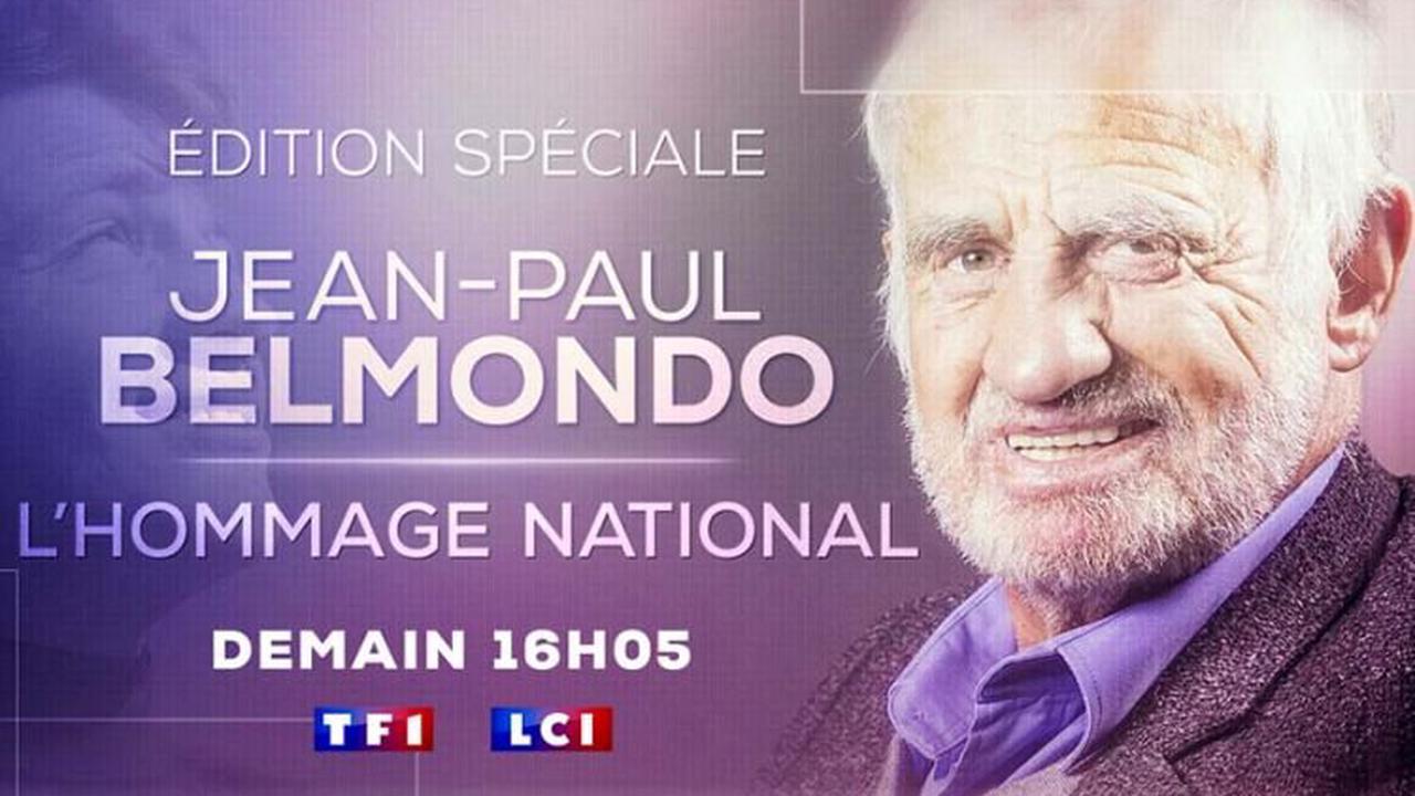 L'hommage National à Jean-Paul Belmondo diffusé en direct sur TF1 & LCI jeudi 9 septembre à partir de 16:05