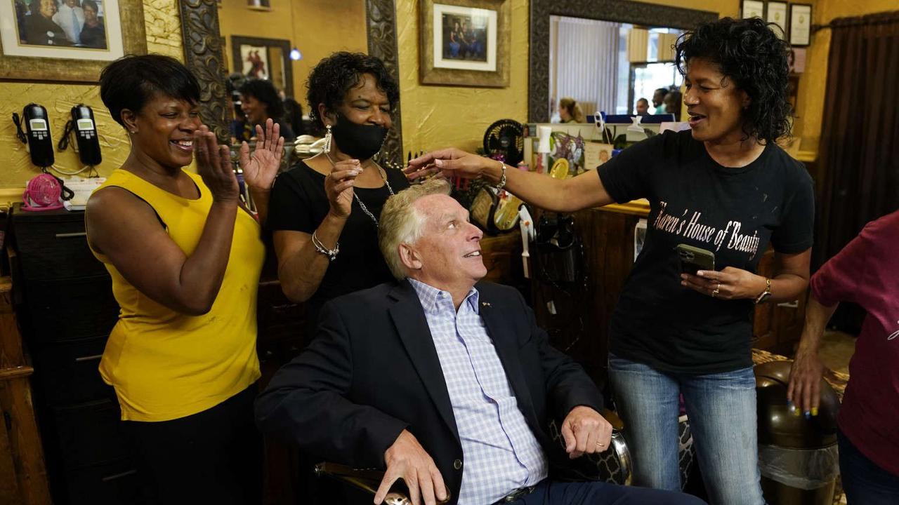 McAuliffe lead in Virginia governor race threatened by police and racism reform activist