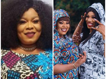 Chinyere Wilfred Stuns In Matching Outfits With Her Twin Sister, Chinelo (Photos)