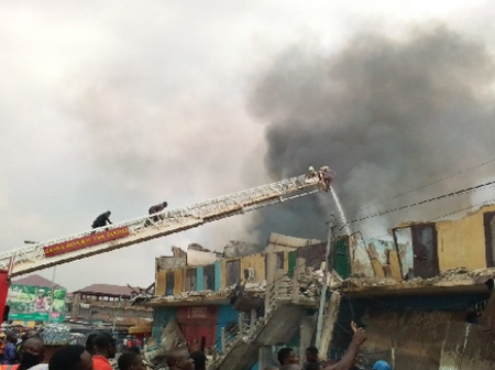 Kumasi records multiple fire outbreak in 2021