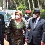 La photo du jour: la première dame Dominique Ouattara