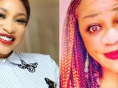 You're a bitter disabled woman –  Tonto Dikeh blasts blogger SDK as online battle continues [video]