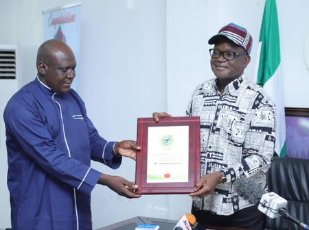 Governor Ortom Bags WOWICAN Excellence Award