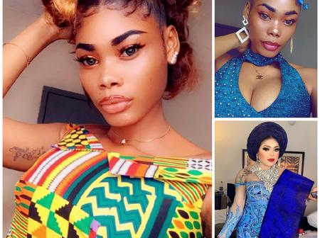 Meet The Ivorian Young Lady Bobrisky Flew Down To Nigeria To Change Her Life With Money(Photos)