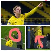 See What Dortmund's Coach Did, After Haaland Failed To Score Hattrick Yesterday That Made Fans React