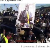 William Ruto Promises A Foreign Debt Free Economy On A Speech At Kapsabet Town