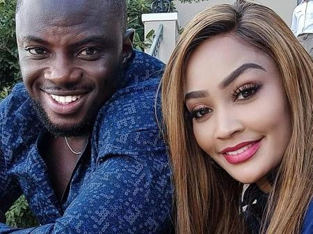 Photo of Zari Hassan and Her Boyfriend in Color Coordinating Outfits