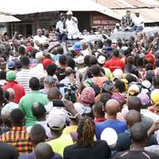 Raila Odinga And Hassan Joho Accorded A Grand Entry In Mombasa as They Address A Joint Rally(Photos)