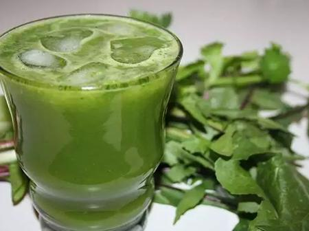 Six (6) Health Benefits Of Drinking Bitter Leaf Juice