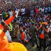 Raila Storms Matungu Dressed in All Orange Atire (Photos)
