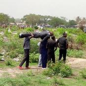 Flashback: The day two Mortuary men went to the Cemetery to pick a dead body back to the Mortuary.