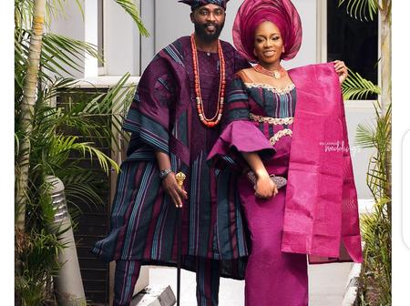 BBNaija's Couple Khafi And Gedoni Slay In Matching Traditional Outfits