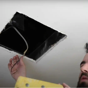 Lady's Boyfriend Breaks Down her Closet Wall only to find a Secret on the Other Side