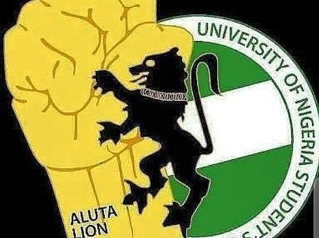BREAKING: University of Nigeria Enugu Campus gate set on fire