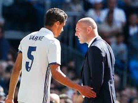 Real  Madrid: ZinedineZidane , Raphaël Varane est intransférable