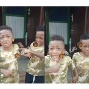 Check Out What These Two Identical Twins Did After Their Father Caught One Them Doing Something Bad