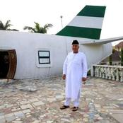 Meet The Man Who Built An Airplane House For His Wife In Nigeria