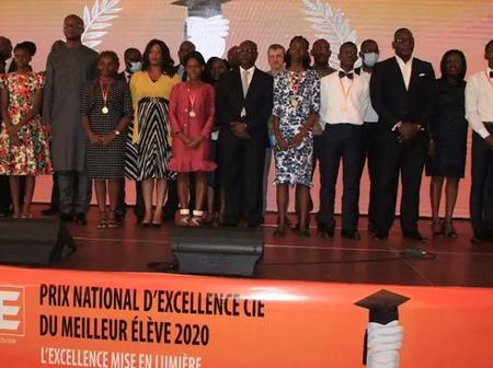 Côte d'Ivoire : le prix national d'excellence 2020 décerné aux meilleurs élèves