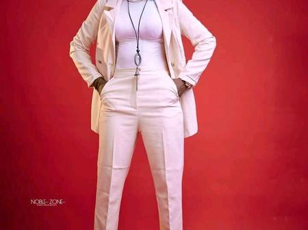 Actress Momee Gombe Shared Beautiful Photos Wearing A Chained Necklace
