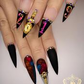 Dear Men, See 18 Types Of Nail Designs You Shouldn't Allow Your Wife To Fix If You Want Her To Cook.