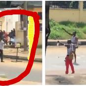 See What Happened After These Guys Fortified With Charms Were Shot At Close Range By Police Officers