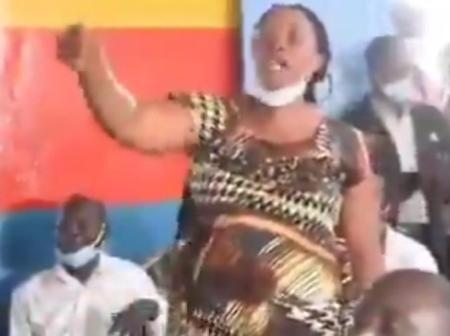 Brave Isiolo Woman Applauded for Telling Governor Kuti and Dhullo That They Will Go Home