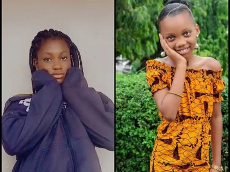 Actress Sharon Ifedi flaunts her beautiful kid sister as she turns a year older today