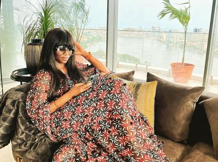 Genevieve Nnaji Shares Adorable Easter Photo