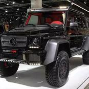 The Brabus G850; A Car That Humbles The Mercedes G- Wagon To The Ground