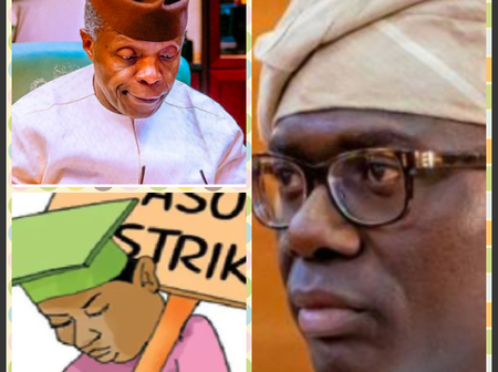 Today's Headlines: Another Strike Looms As FG and ASUP Meets, Osinbajo Declare Festival Open