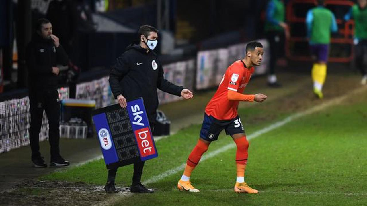 Blow for Tom Ince as Stoke City man tries to make mark at Luton