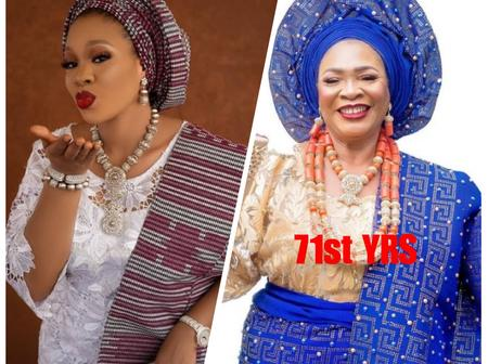 Actress Mosun Filani Shows Off  Mother As She Celebrates Her 71st Birthday