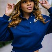 Dintle from scandal left fans speechless with her recent pictures.
