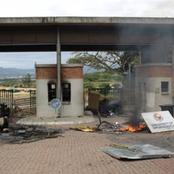University of Mpumalanga Students Burn Down University Because Of The NSFAS Strike