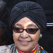 Winnie Madikizela Mandela the ex-wife of Nelson Mandela's wife.
