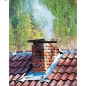 What is the purpose of house chimney ?